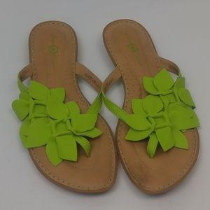 Born Concept Thong Flip Flop Sandals Size 10